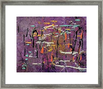 The 80's Framed Print by Ashley Irving