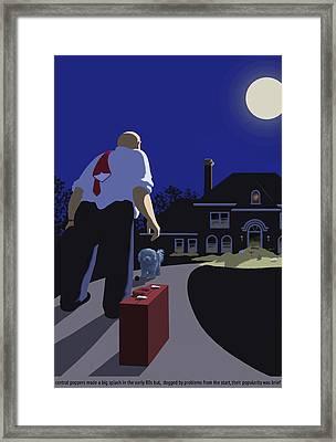 The Last Straw Framed Print by Tom Dickson