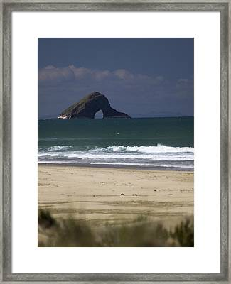 The 90 Mile Beach Framed Print by Lucian Nistor