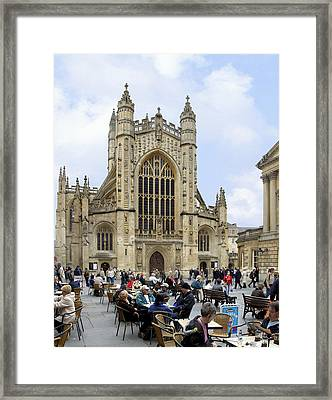 The Abby At Bath Framed Print by Mike McGlothlen