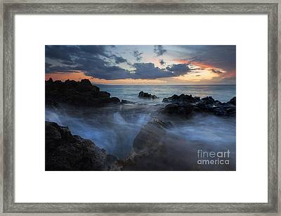 The Abyss Framed Print by Mike  Dawson