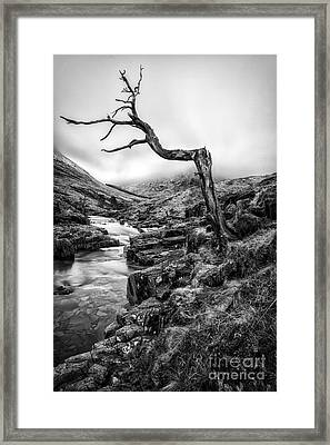 The Accusing Finger Framed Print by John Farnan