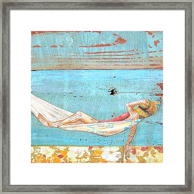 The Activity Of Soul Resting Framed Print by Danny Phillips