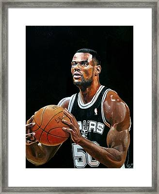 The Admiral David Robinson Framed Print by Michael  Pattison