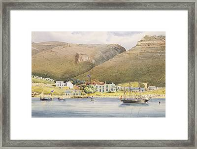 The Admiral House Framed Print by Humphrey John Julian