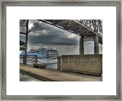 The Admiral Framed Print by Jane Linders