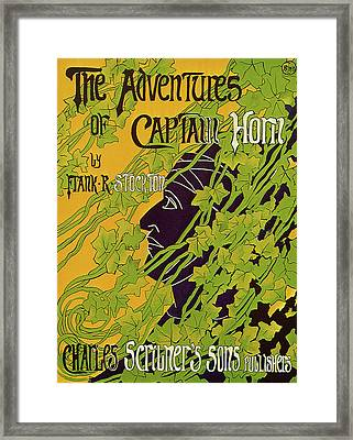The Adventures Of Captain Horn 1895 Framed Print by BLANCHE McMANUS