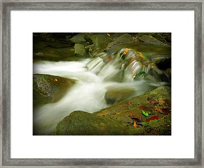 The Afterflow Framed Print by Henry Adams