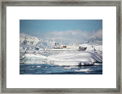 The Akademik Sergey Vavilov Framed Print by Ashley Cooper