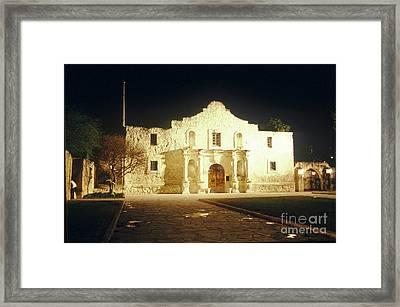 The Alamo. San Antonio, Texas Framed Print by Van D. Bucher