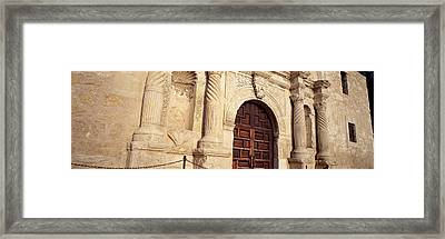 The Alamo San Antonio Tx Framed Print by Panoramic Images