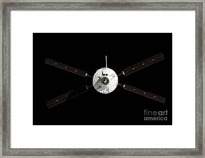 The Albert Einstein Automated Transfer Framed Print by Stocktrek Images
