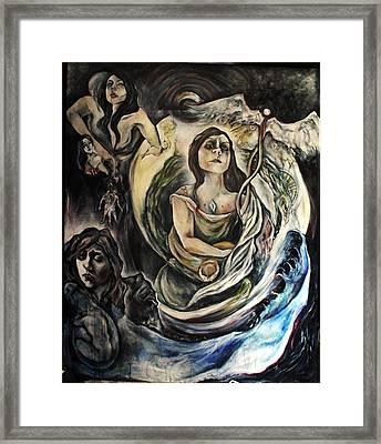 The Alchemist Framed Print by Hilary Dow