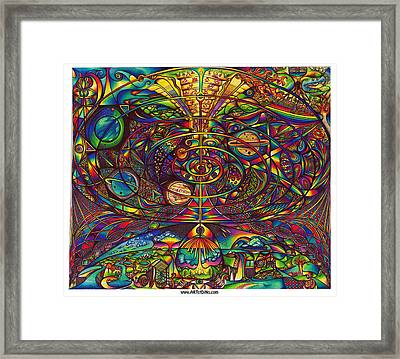 the Alignment Framed Print by diNo
