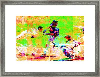 The All American Pastime 20140501 Framed Print by Wingsdomain Art and Photography