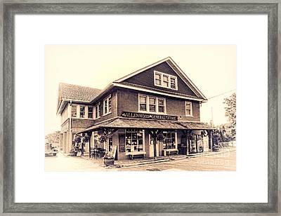 The Allenwood General Store Framed Print by Olivier Le Queinec