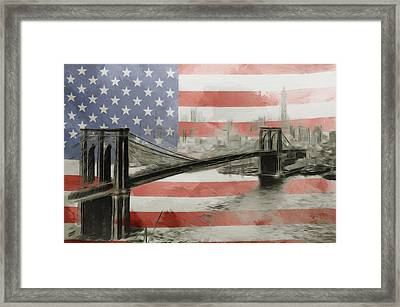 The American Dream Framed Print by Stefan Kuhn