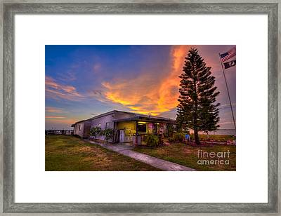 The American Legion Framed Print by Marvin Spates