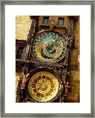 The Ancient Of Clocks Framed Print by Ira Shander