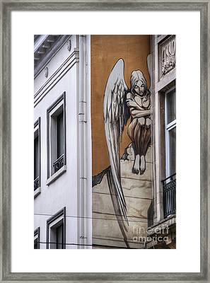The Angel Framed Print by Juli Scalzi