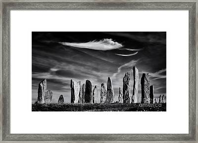 The Angel Of Callanish  Framed Print by Tim Gainey