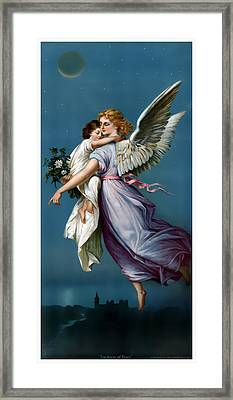 The Angel Of Peace Framed Print by Terry Reynoldson