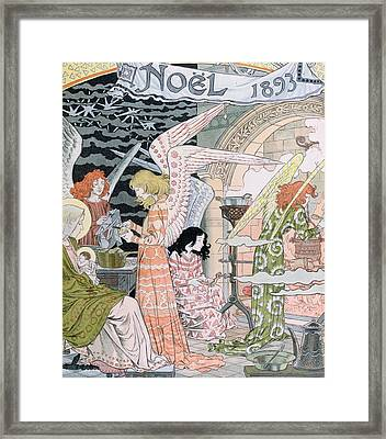 The Angels Kitchen Framed Print by Eugene Grasset