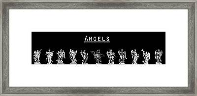 The Angels Of Rome Framed Print by Fabrizio Troiani
