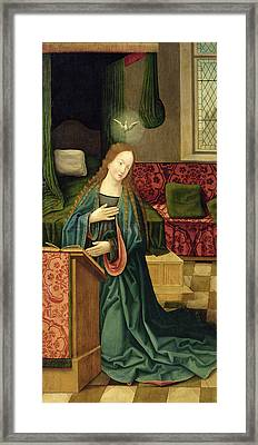 The Annunciation Framed Print by German School