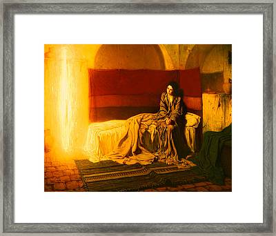 The Annunciation Framed Print by Mountain Dreams