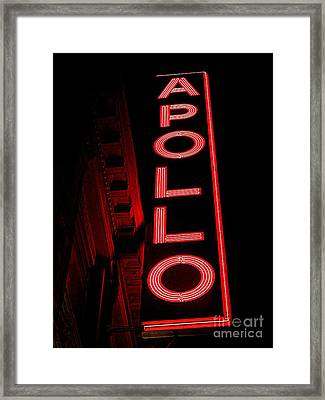 The Apollo Framed Print by Ed Weidman