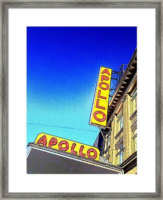 The Apollo Framed Print by Gilda Parente