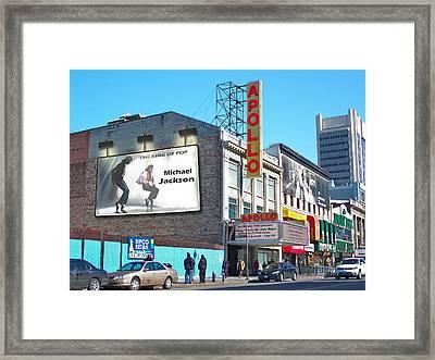 The Apollo Theater-2 Framed Print by Nina Bradica
