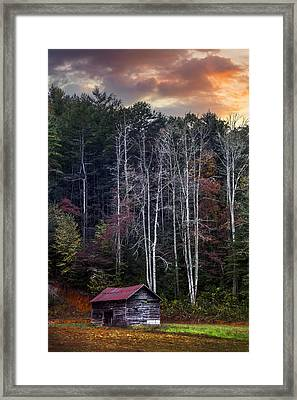 The Appalachian Mountains Framed Print by Debra and Dave Vanderlaan