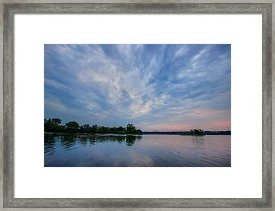 The Approaching Storm Framed Print by Adam Mateo Fierro