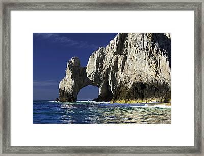 The Arch Cabo San Lucas Framed Print by Sebastian Musial