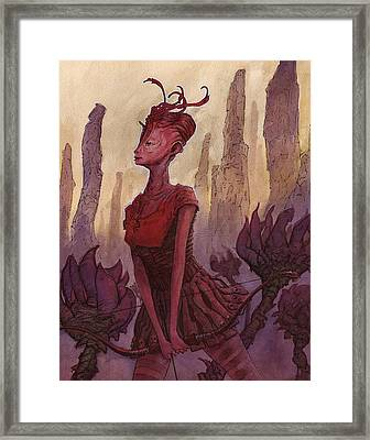 The Archer Framed Print by Ethan Harris