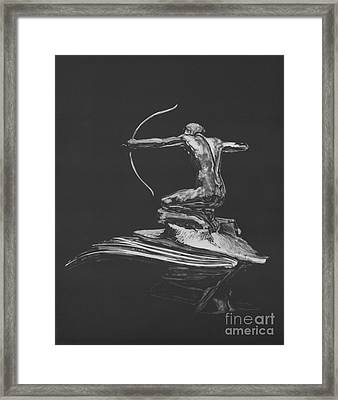 Icons The Archer Framed Print by Matthew Jarrett