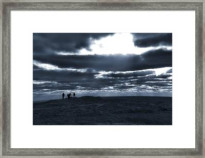 The Arctic Adventure Framed Print by Dan Sproul