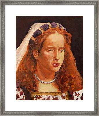 The Aristocrat Framed Print by Janet Ashworth
