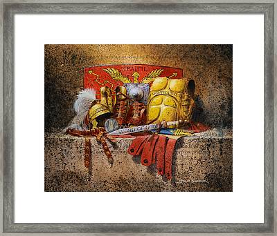 The Armour Of God Framed Print by Graham Braddock