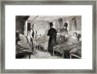 The Arrest Of The Boy, Plate 4 From The Framed Print by George Cruikshank