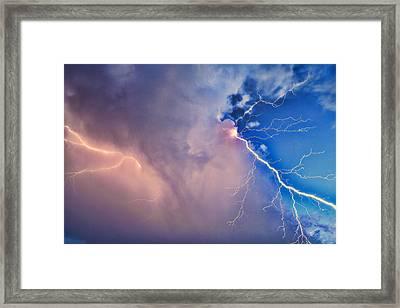 The Arrival Of Zeus Framed Print by Jonathan Davison