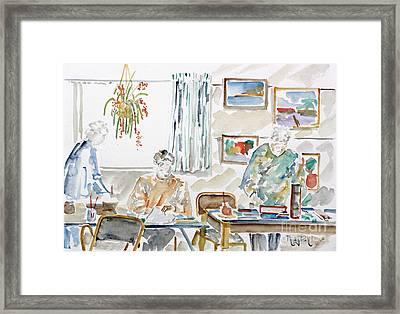 The Art Club Framed Print by Phong Trinh