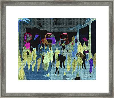 The Art Gallery Framed Print by Pedro L Gili