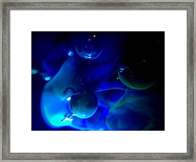Art Glass Project-6 Borosilicate Glass Framed Print by Susan Maxwell Schmidt