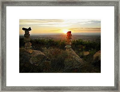 The Art Of Cairns Framed Print by Christine Till