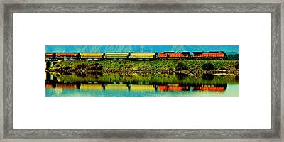 The Art Of Commerce Framed Print by Benjamin Yeager