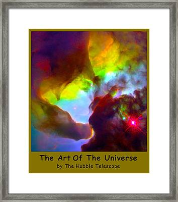 The Art Of The Universe 266 Framed Print by The Hubble Telescope