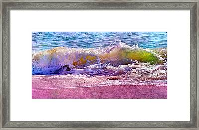 The Art Of Waving Framed Print by Betsy C Knapp